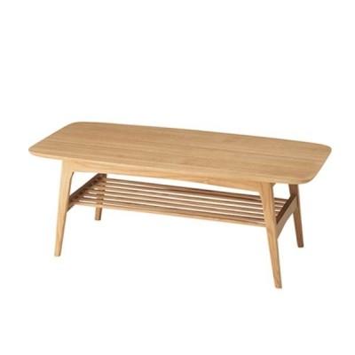 シンプルナチュラル木製リビングテーブルセンターテーブル幅105奥行50cm ay-0110