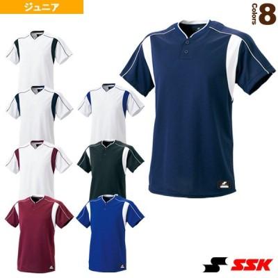 エスエスケイ 野球ウェア(メンズ/ユニ)  2ボタンベースボールTシャツ/ジュニア(BW2080J)