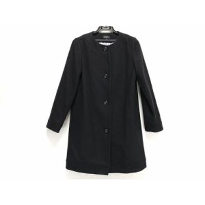アーペーセー A.P.C. コート サイズ34 S レディース - 黒 長袖/冬【中古】20201113