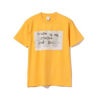 【ビームス メン】 PARADIGM / Ghetto Tシャツ メンズ イエロー L BEAMS MEN