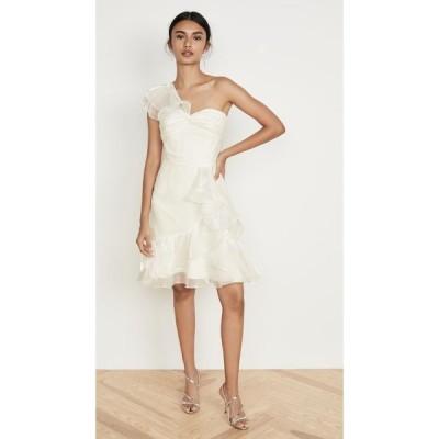 ノッテ バイ マルケッサ Marchesa Notte レディース パーティードレス カクテルドレス ワンピース・ドレス One Shoulder Cocktail Dress Ivory