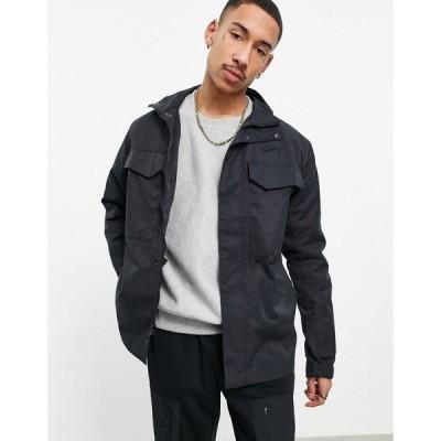 ナイキ Nike メンズ ジャケット アウター M65 lightweight woven jacket in black ブラック