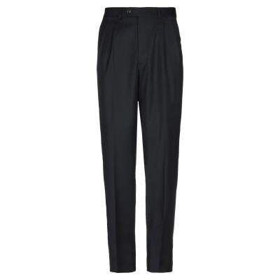 JASPER REED パンツ ブラック 50 スーパー120 ウール 100% パンツ