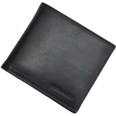 (トリアンゴロ)TRIANGOLO 財布 メンズ ユニセックス 二つ折り財布 ブルーネイビー 正規取扱店 ワンサイズ