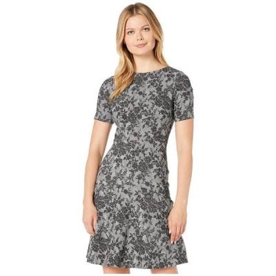 ラルフローレン レディース ワンピース トップス Pembrook Floral Knit Baba Short Sleeve Day Dress
