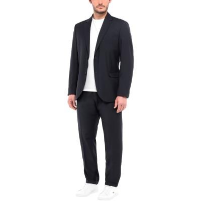 OFFICINA 36 スーツ ダークブルー 56 ポリエステル 55% / ウール 45% スーツ