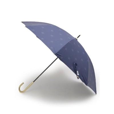 デッサン Dessin Wpc. かすれスター柄晴雨兼用長傘 (ネイビー)