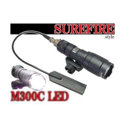 SUREFIREタイプレプリカ M300C ミニスカウトライト BK 高光度LED