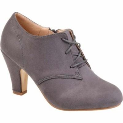 ジュルネ コレクション Journee Collection レディース ブーツ シューズ・靴 Leona Bootie Grey