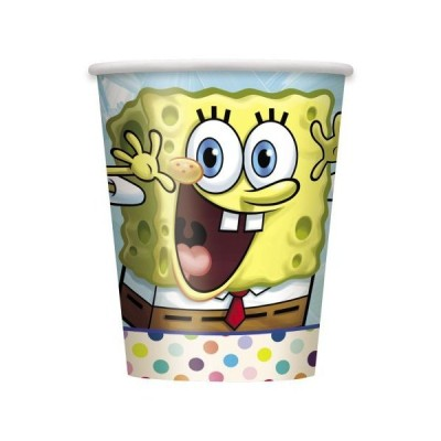 270ml SpongeBob SquarePants Party Cups, 8ct