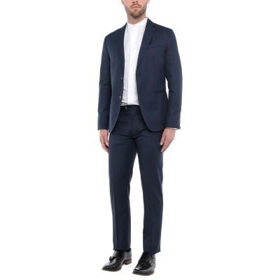 ローダ RODA スーツ ブルー 50 ウール 55% / コットン 45% スーツ