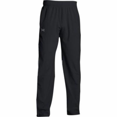 アンダーアーマー Under Armour メンズ フィットネス・トレーニング ボトムス・パンツ Team Squad Woven Warm Up Pants Black/Steel