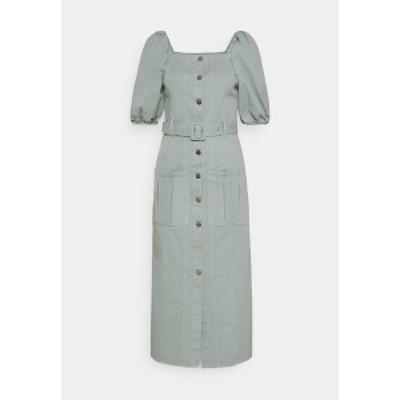 ゲタス レディース ワンピース トップス BELLIO DRESS - Denim dress - slate gray slate gray