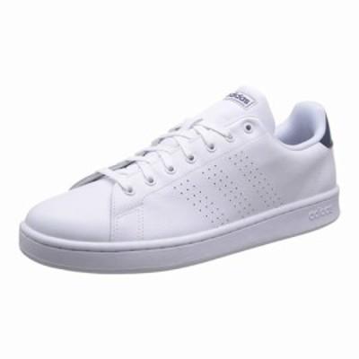 【送料無料】adidas アディダス メンズ アドバンコート ADVANCOURT LEA M ホワイト/ホワイト/ダークブルー F36423