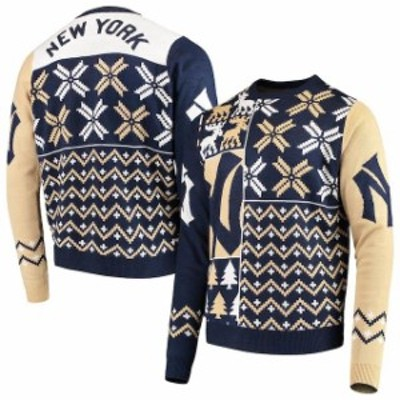 Forever Collectibles フォーエバー コレクティブル スポーツ用品  New York Yankees Navy Retro Sweater