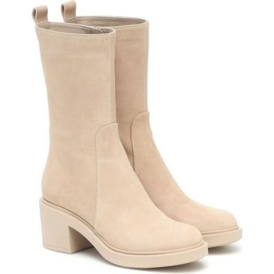 ジャンヴィト ロッシ Gianvito Rossi レディース ブーツ ショートブーツ シューズ・靴 Margeaux Suede Ankle Boots Mousse