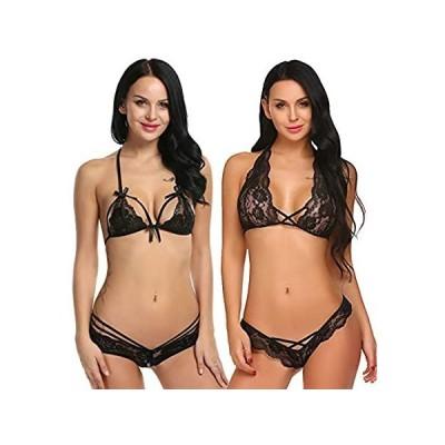 Avidlove Lingerie Lace Babydoll 2 Piece Sexy Bra and Panty Sets好評販売中
