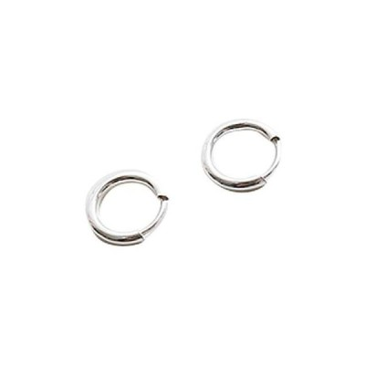 somedayif レディース イヤリング Simple mini circle earrings