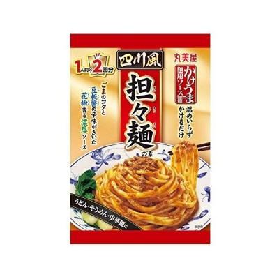 丸美屋 1人前×2四川風担々麺の素 160g×8個
