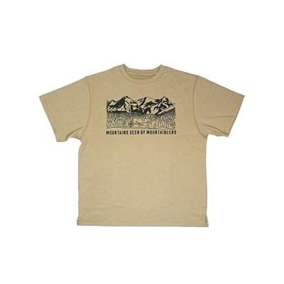 マウンテンスミス Mountainsmith Tシャツ (Beige, M)