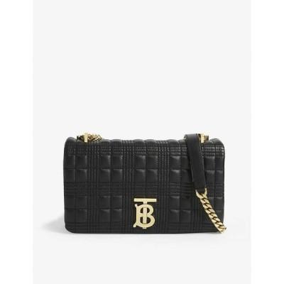 バーバリー BURBERRY レディース ショルダーバッグ バッグ Lola small leather shoulder bag BLACK/BLACK