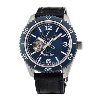 オリエントスター スポーツ RK-AT0108L 腕時計 メンズ ORIENT STAR  レザーベルト ビジネスウォッチ 父の日 プレゼント ブルー系
