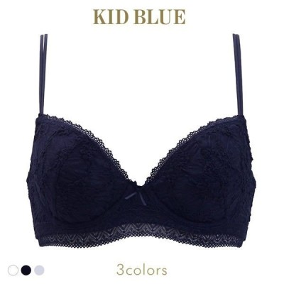 キッドブルー KID BLUE 17シャーリングレース 3/4カップ ワイヤーブラジャー