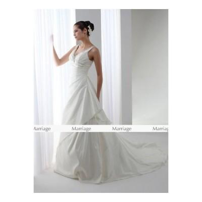 DA8168  ウェディングドレス  ウエディングドレス マタニティー対応