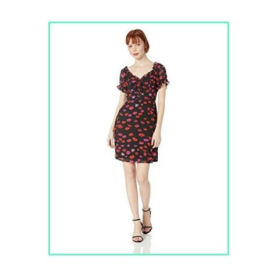 Betsey Johnson women's Lace Up Dress, Red Kiss, 4並行輸入品