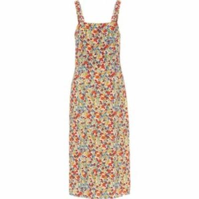 ベルベット グラハムandスペンサー Velvet レディース ワンピース ミドル丈 ワンピース・ドレス Raya floral midi dress Blossom