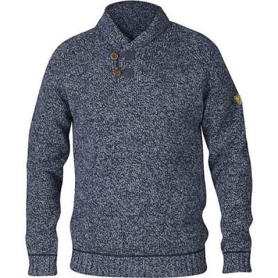 フェールラーベン ニット、セーター メンズ アウター Fjallraven Men's Lada Sweater Dark Navy