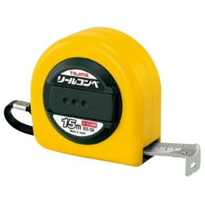 TAJIMA タジマ コンベックス リール R 25 150 BL スチール テープ JIS  ショック アブソーバー クリップ メートル