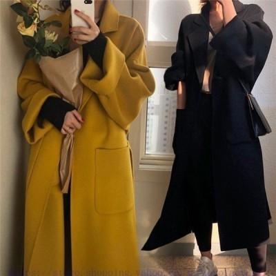 秋冬作チェスターコートオーバーコートスプリングコート大きいサイズ秋冬襟付き防寒暖かいゆったりジャケット