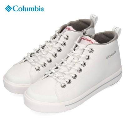 コロンビア 靴 Columbia メンズ レディース スニーカー ホーソンレイン2 ウォータープルーフ YU0316 100 ホワイト 防水 白