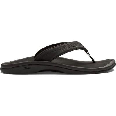 オルカイ Olukai レディース サンダル・ミュール シューズ・靴 'Ohana Sandals Black/Black
