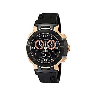 特別価格Tissot Men's T0484172705706 Rose Gold-Tone Watch with Black Band好評販売中