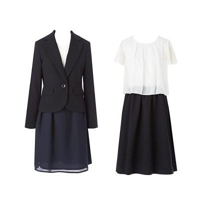 (アンジェリカ)Angelica P80170 濃紺 11号 スーツ レディース スーツ ママ 入学式 スーツ ママ 卒業式 スーツ 入学式