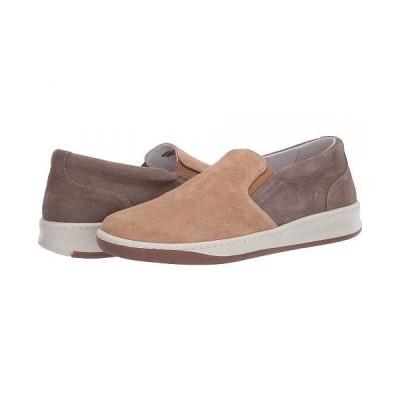 eleventy メンズ 男性用 シューズ 靴 スニーカー 運動靴 Suede Slip-On Sneaker - Taupe/Tan