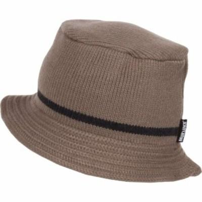 ムクルクス Muk Luks レディース ハット バケットハット 帽子 Bucket Hat Tan/Grey