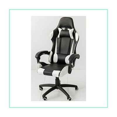 Game Chairs, Office armchairs,Game Gaming Chair,Computer Chair,Office Chair,Swivel Leather Desk Chair,Ergonomic Recliner,with Padded Footrest and Lumb