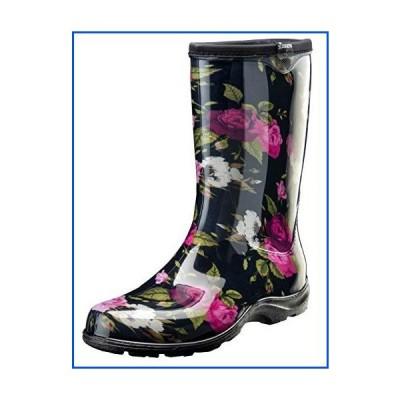 【新品】Sloggers レディース 防水レイン&ガーデンブーツ 快適インソール US サイズ: 9 カラー: ブラック
