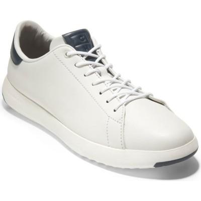 コールハーン COLE HAAN メンズ スニーカー ローカット シューズ・靴 Grandpro Low Top Sneaker White/Navy Ink