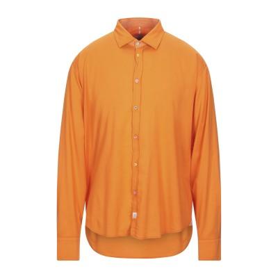 PANAMA シャツ オレンジ XL コットン 96% / ポリウレタン 4% シャツ
