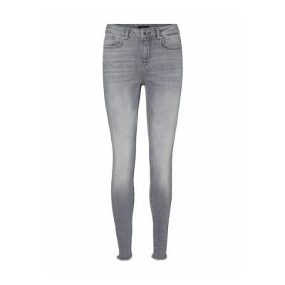 ヴェロモーダ デニムパンツ レディース ボトムス SKINNY FIT JEANS VMHANNA - Slim fit jeans - light grey denim