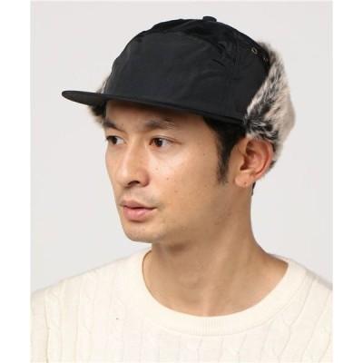 帽子 キャップ Basiquenti Nylon Flap Cap_RVU