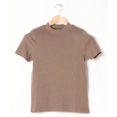 tシャツ Tシャツ テレコハイネックプルオーバー *