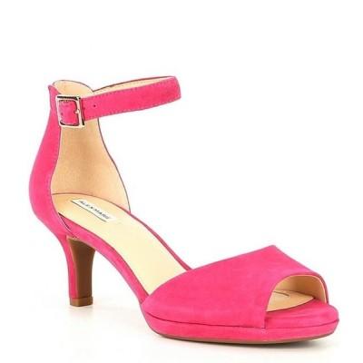 アレックスマリー レディース サンダル シューズ Bevali Suede Ankle-Strap Platform Sandals
