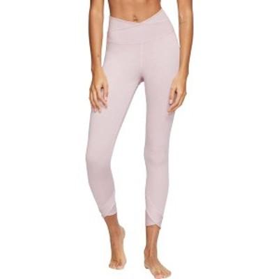ナイキ レディース カジュアルパンツ ボトムス Nike Women's Yoga Wrap 7/8 Tights Plum Chalk