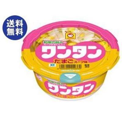 送料無料 東洋水産 マルちゃん ワンタン たまごスープ味 28g×12個入