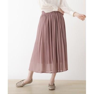 【シューラルー】 シフォンカラースカート レディース ピンク 00(FREE) SHOO・LA・RUE